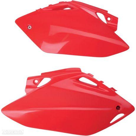 paineis laterais traseiros ufo vermelho honda crf 450