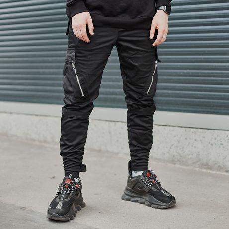 Брюки карго мужские Angry Zipp штаны на осень-весну