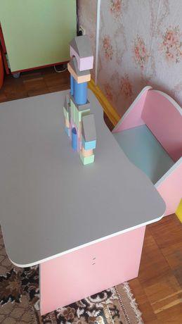 Дитячий столик стульчик