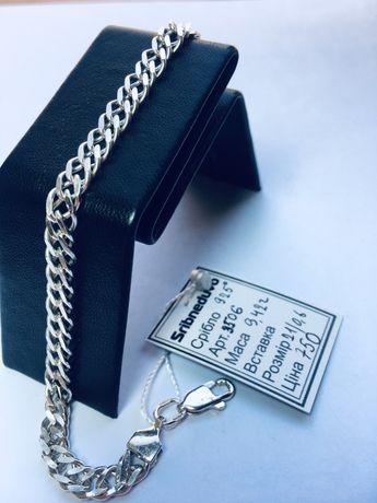 Браслет срібний серебрянный кований кованый чоловічий мужской
