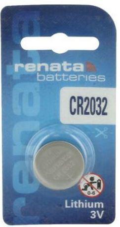 Renata CR2032 baterias de lítio 3V DL2032