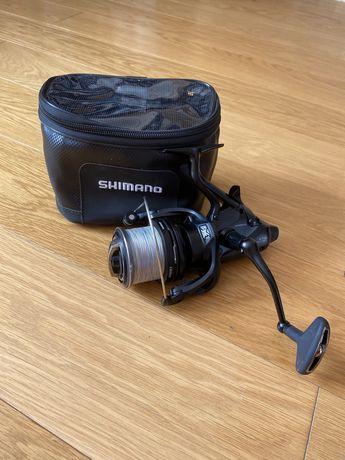 Катушка SHIMANO Medium Baitrunner XT-B 5500 + чехол SHIMANO + шнур