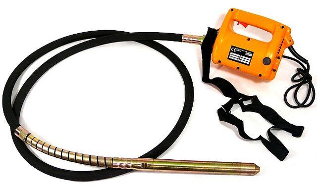Wibrator do betonu zagęszczarka 2300W buława 4m/45mm (BUD23)