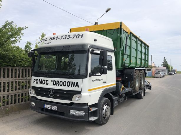 FV transport pomoc drogow maszyny budowlane rolnicze wózków laweta BUS