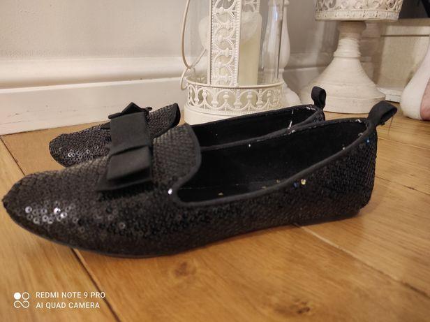 Baletki smyk 35 czarne