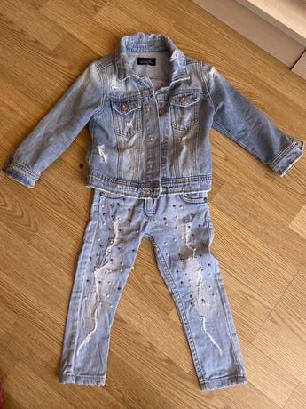 Джинсовый костюм на 2-3 года