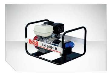 FH 6001 R agregat prądotwórczy FOGO jednofazowy