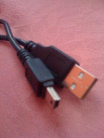 Kabel USB/mini USB , kabelek długość 145 cm i 175 cm