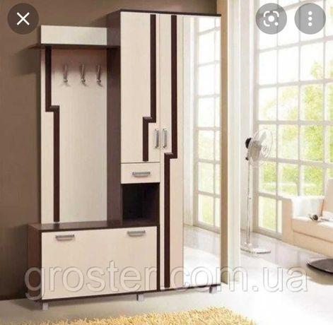 Прихожая, мебель, шкаф в прихожую