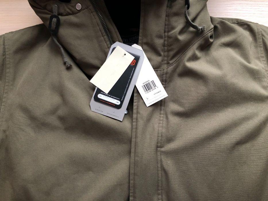 Levi's мужская оливковая куртка thermore padded parka jacket Киев - изображение 1