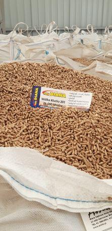 PELLET DRZEWNY worki 15/25 kg/Big-Bag/Certyfikowany/PRZESIEWANY