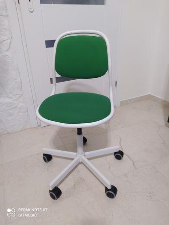 Krzesło obrotowe biurkowe ÖRFJÄLL dla dzieci dziecięce.Ikea.
