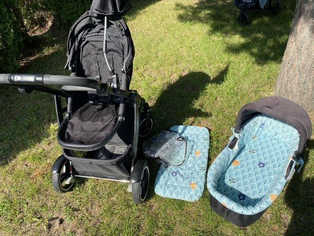 Graco Evo xt gondola + spacerowka + fotelik+ adapter do fotelika