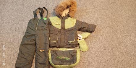 Зимний комбинезон,костюм,комбез куртка и штаны от 0до 2лет 56-92см