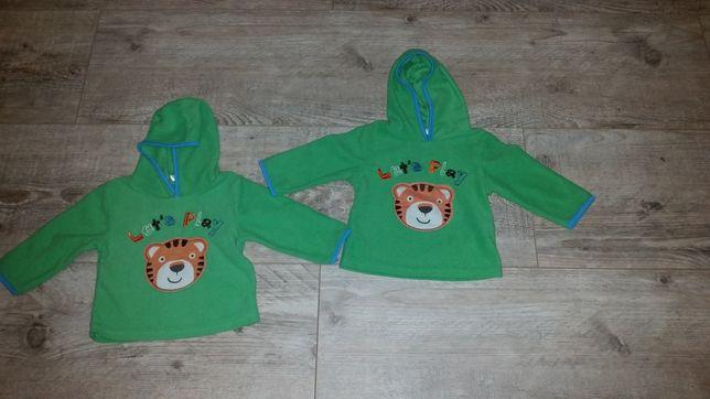 Bluzy dla bliźniaków rozmiar 74