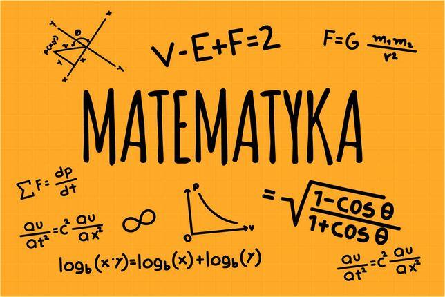 Korepetycje z matematyki - liceum oraz szkoła podstawowa