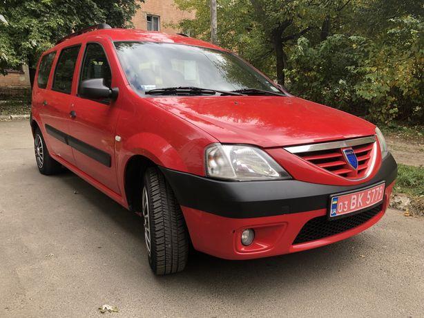 Dacia Logan 7 місць газ/бенз