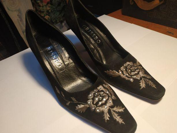 Кожаные туфли Grissbo