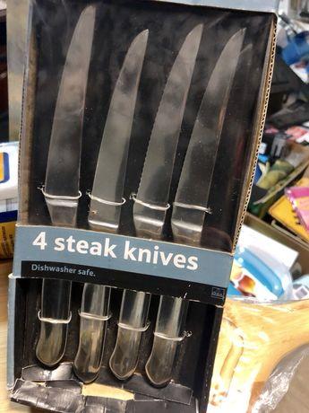 Noże do steków komplet 4 sztuki nowe