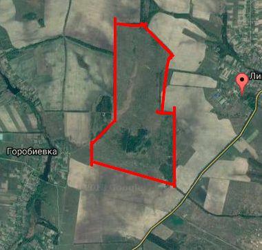 143 га в Бышеве - 8 км от новой окружной дороги Киева