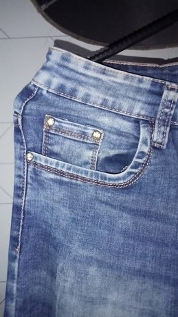 Spodnie miękki jeans