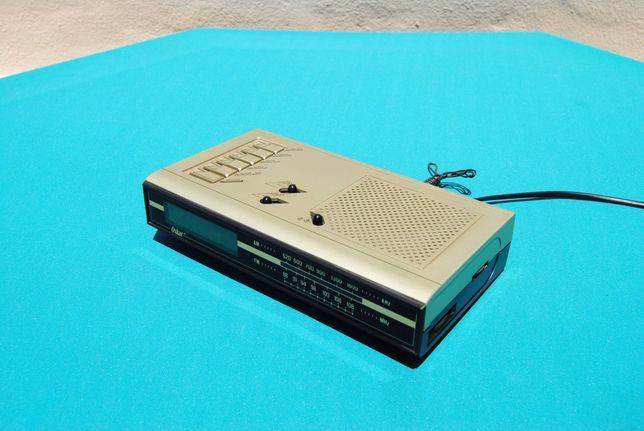 """Radio AM FM Relógio Despertador Antigo marca """"OSKAR"""" vintage anos 70"""