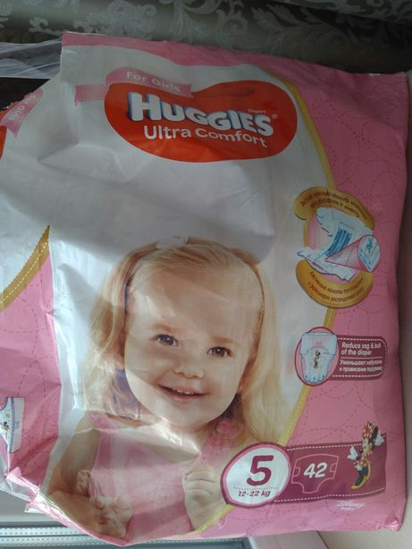 Huggies ultra comfort 5