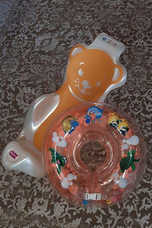 Горка для купания Ok Baby подставка в ванную надувной круг
