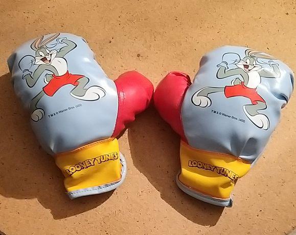 Luvas de boxe para criança
