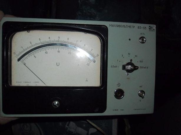 Милливольтметр В3-33