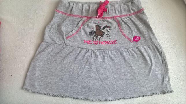 Spódniczka spódnica koń konie kucyk pony 116/122 6-7 lat horse unicorn