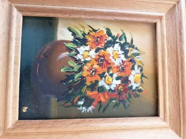 Mały ręcznie malowany obrazek 2