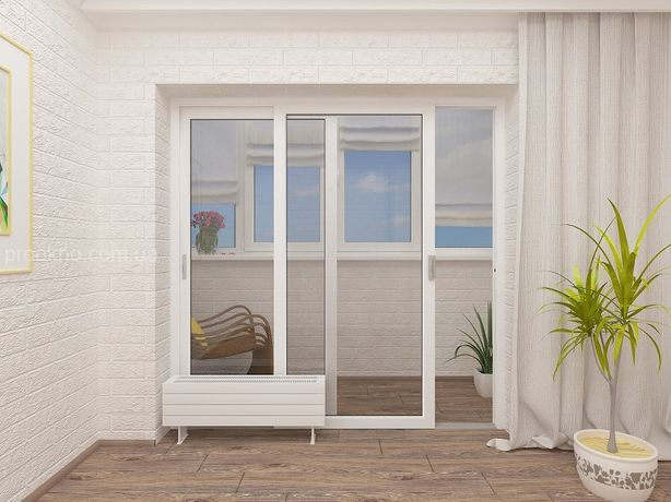 РАЗДВИЖНЫЕ металлопластиковые окна, РАЗДВИЖКА, окна на роликах. Одесса