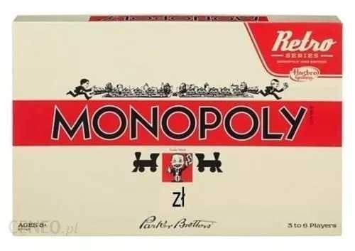 Monopoly RETRO + 4 dodatki PRL - Eurobiznes Polska