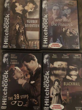 Coleção Clássicos Cinema Filmes Clássicos Alfred Hitchcock