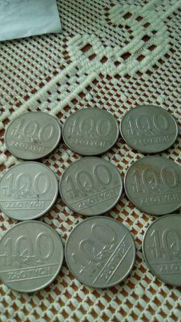 100 zł monety z PRL