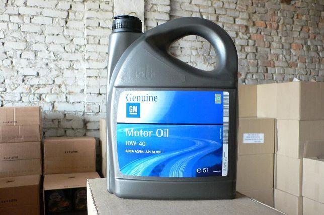 Масло моторное полусинтетическое GM Motor Oil Semi Synthetic 10W-40 5L