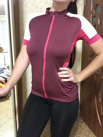 Вело футболка с карманами