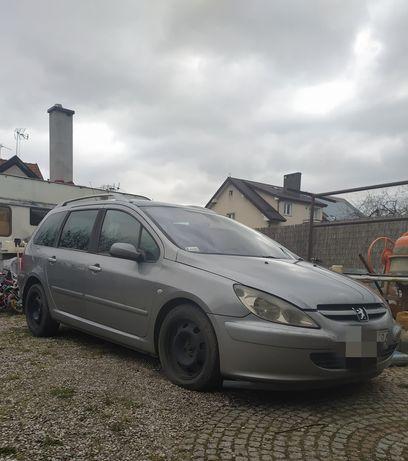 Peugeot 307sw ważny przegląd i ubezpieczenie
