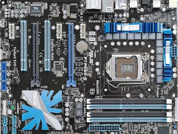 ASUS P7P55D-E + i5 760 (LGA 1156) + Cooler