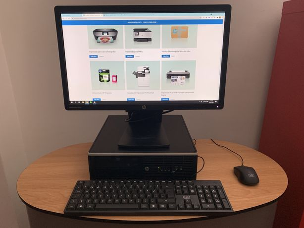 Computado Desktop HP +  Teclado + Rato