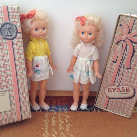Кукла Ссср, Вита, 45 см. Новая, в коробке.Днепропетровская фабрика.