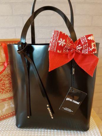 Piękna torba skórzana Gino Rossi