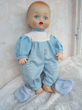 пустушка+ кукла 40 см
