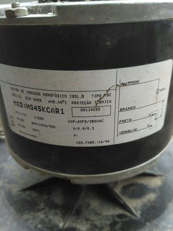 MEBSA mod:HG45KCAR1 мотор кондиционера Dekker