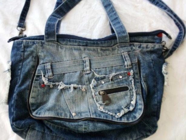Torebka z jeansu