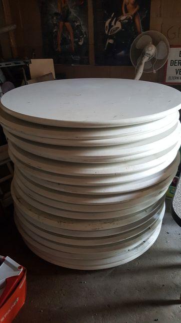 Okrągły Blat/Blaty 130cm Lakierowane Z Drewna I Płyty MFD! 12Szt