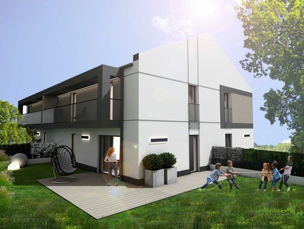2-poziomowe apartamenty Mielec, ul. Modelarska z ogrodem i balkonem