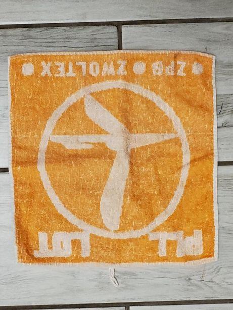 kolekcjonerski ręcznik LOT linie lotnicze