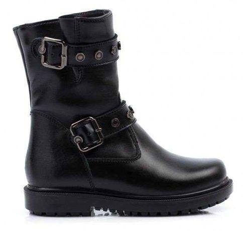 Распродажа! Зимние кожаные ботинки Тиранитос Tiranitos, р.27,28,29